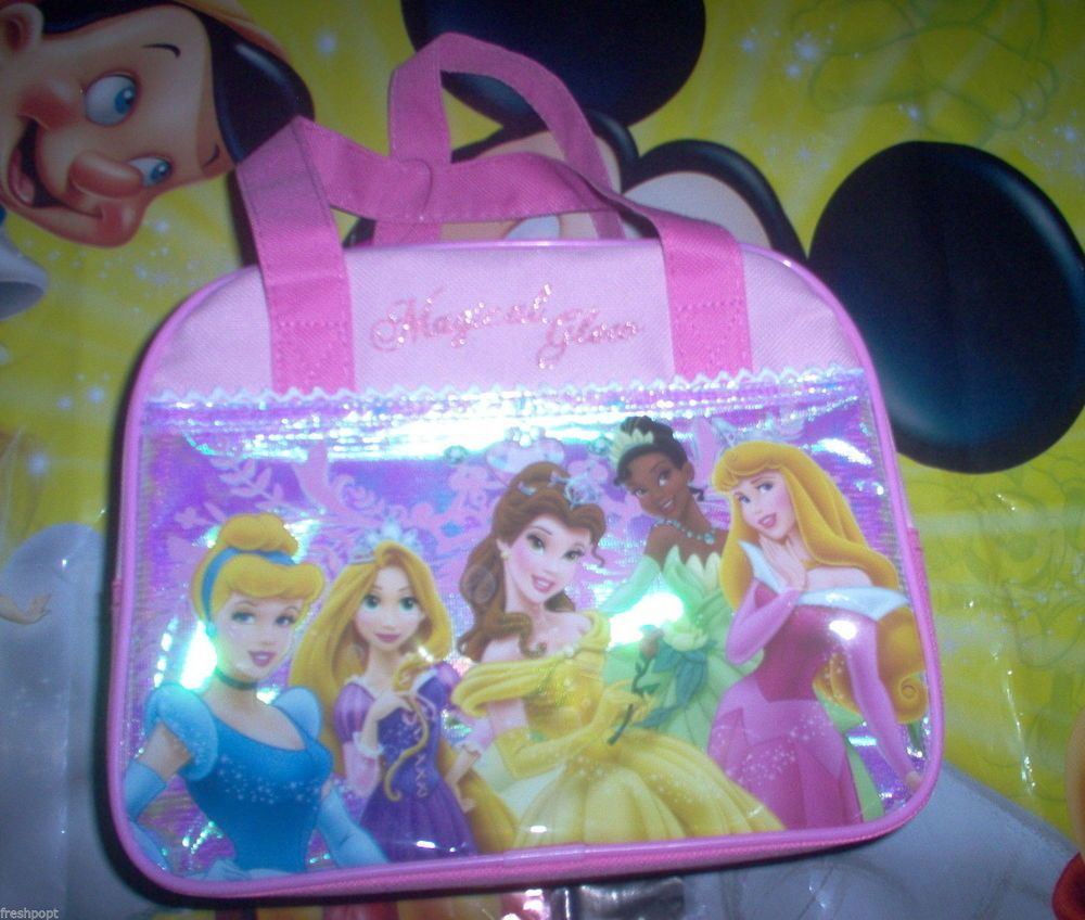 e29b9c24406f Details about LUNCH BAG BOX TOTE PURSE DISNEY Princess Cinderella ...