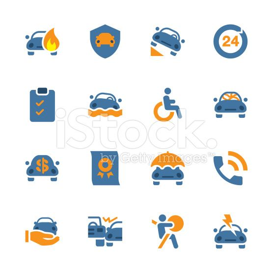 Car Insurance Icon Color Series Car Insurance Insurance