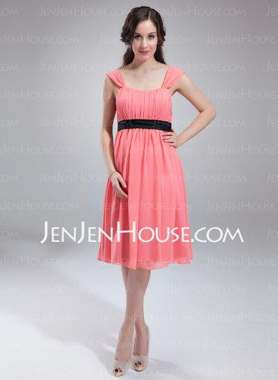 44c0aa88eeb76 Maternity Bridesmaid Dresses - $97.49 - A-Line/Princess Scoop Neck Knee- Length