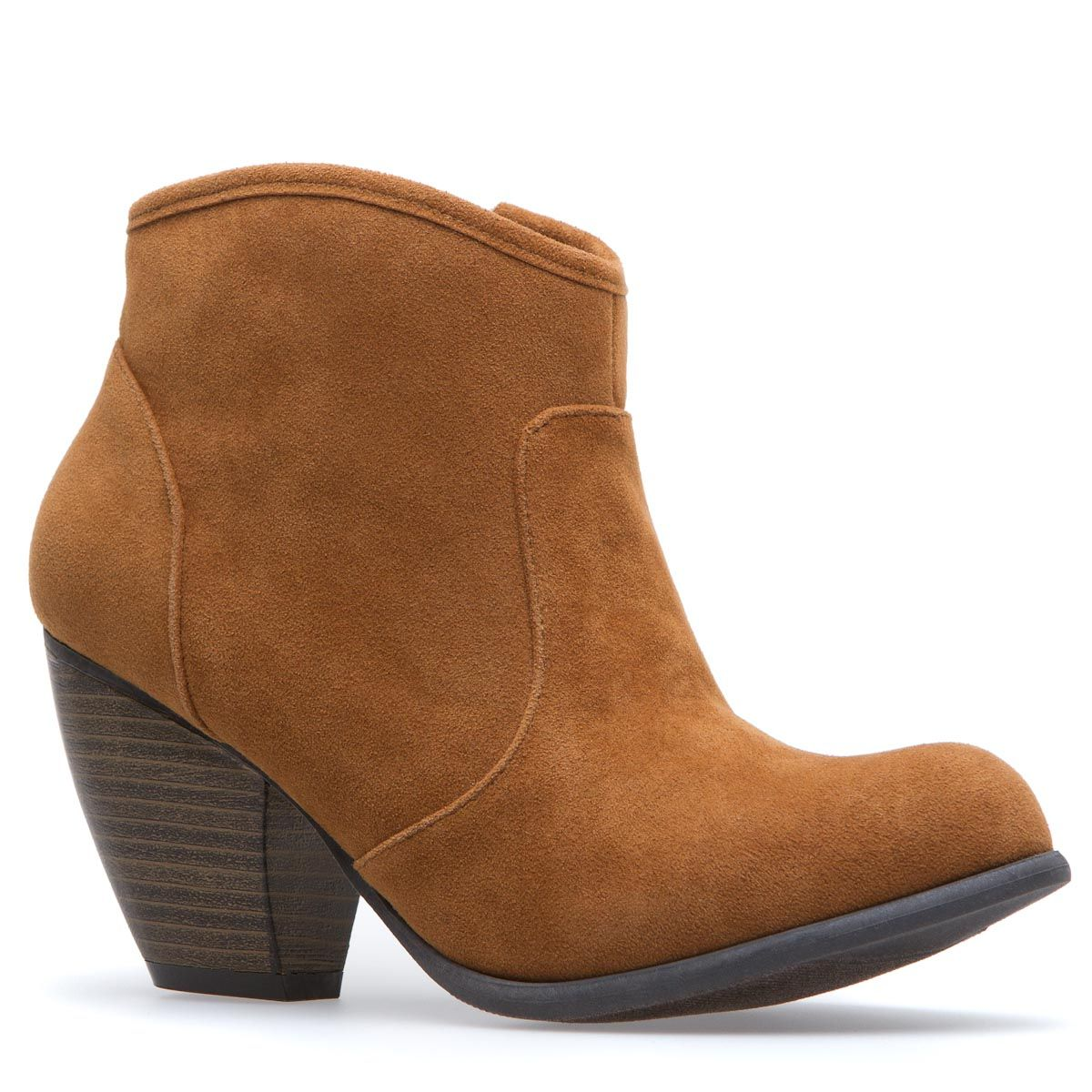 Warm Brown Bootie