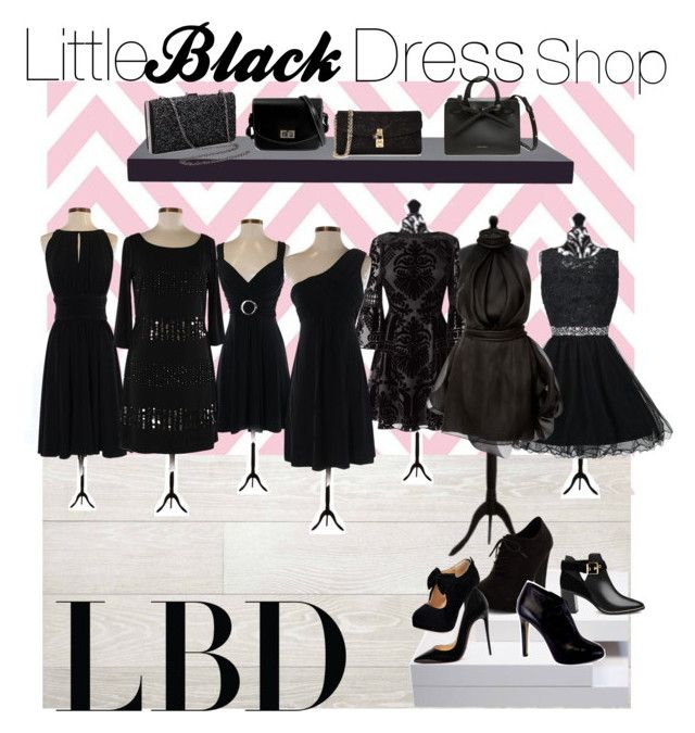 """""""#LBD"""" by allie-morris-1 ❤ liked on Polyvore featuring White House Black Market, Eliza J, Brandon Maxwell, Tart, WALL, Dolce&Gabbana, Ted Baker, New Look, Giuseppe Zanotti and Christian Louboutin"""