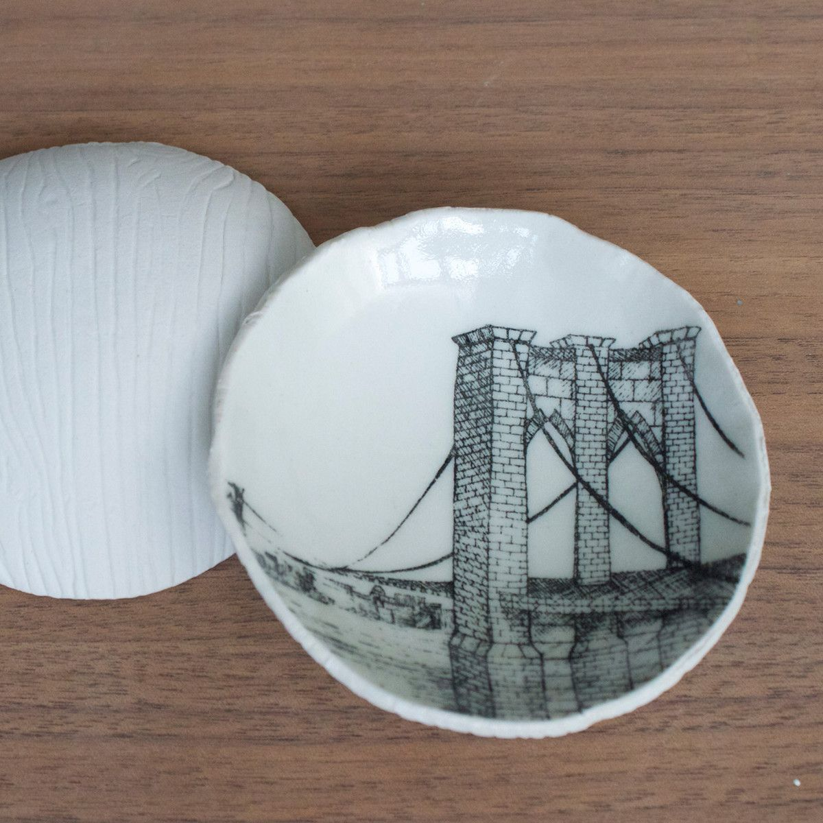 Brooklyn bridge slab dish brooklyn bridge
