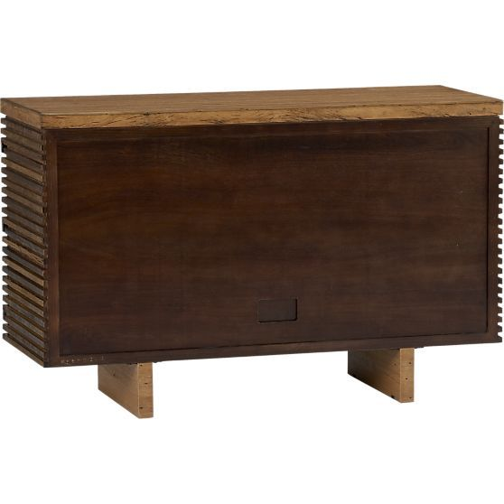 Paloma II Reclaimed Wood Small Sideboard  | Crate and Barrel
