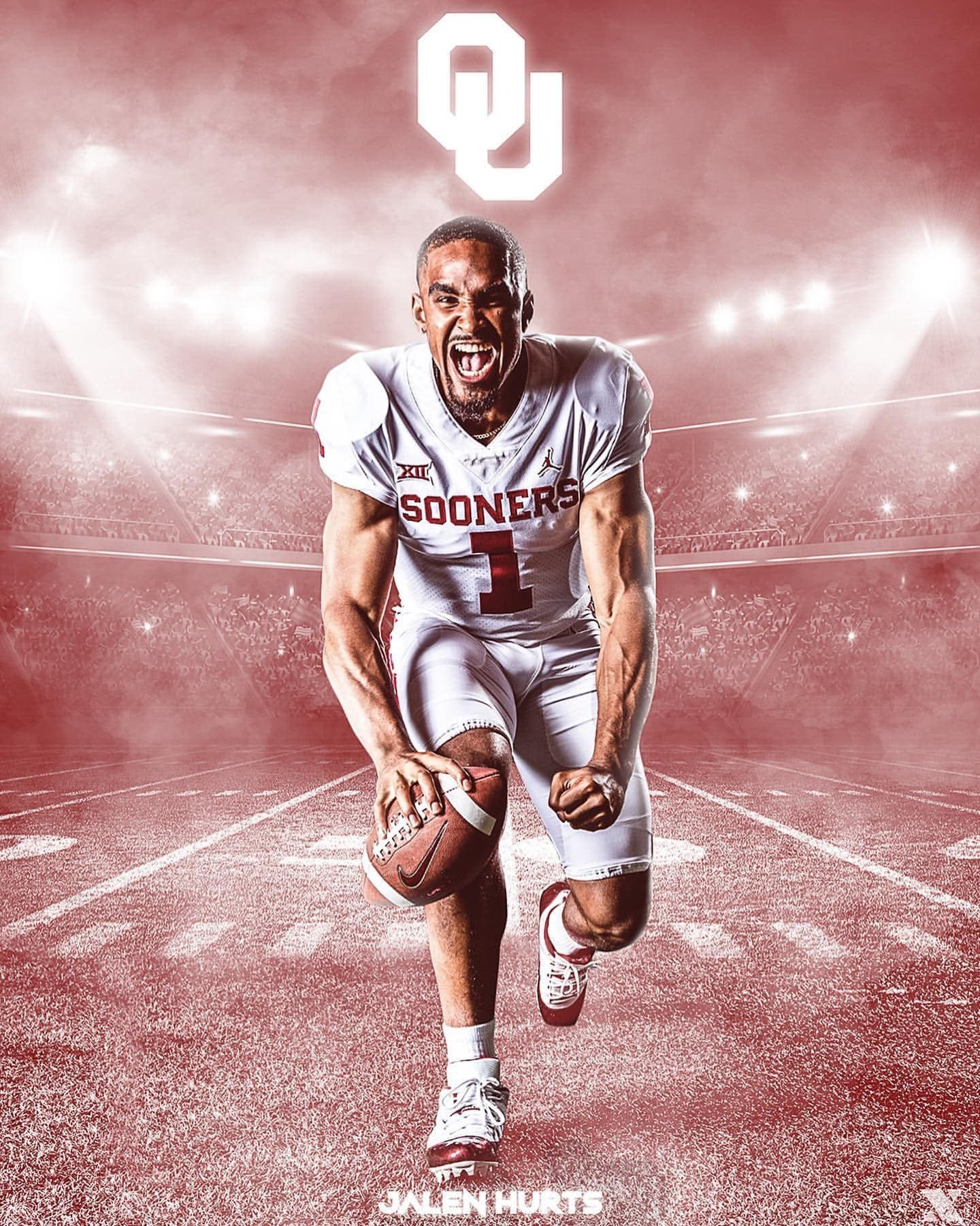 Pin By Juan Agnew On Ou In 2020 Oklahoma Sooners Football Sooners Jalen Hurts