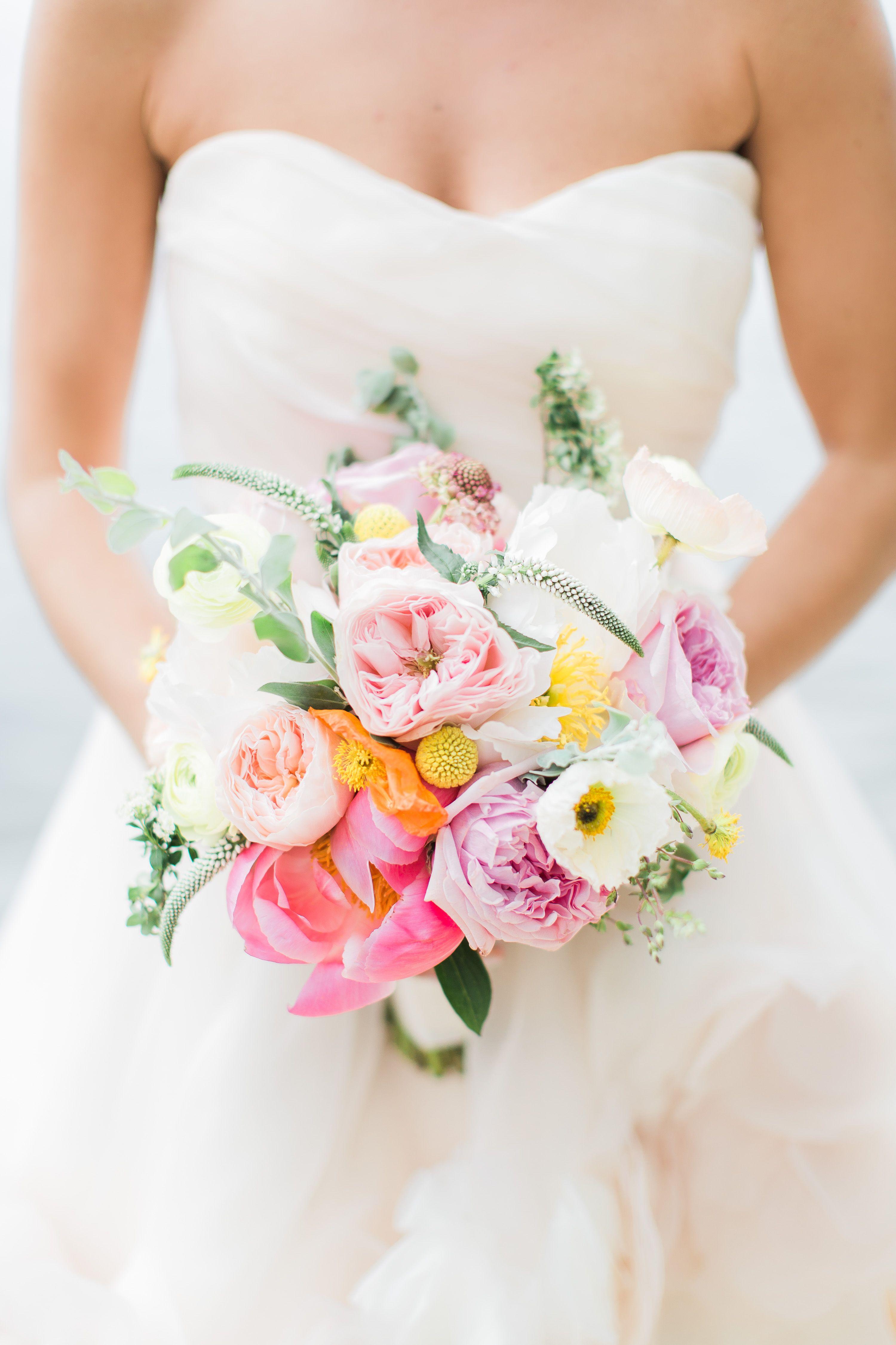 Bright summer garden rose bouquet wedding pinterest garden bright summer garden rose bouquet dhlflorist Image collections