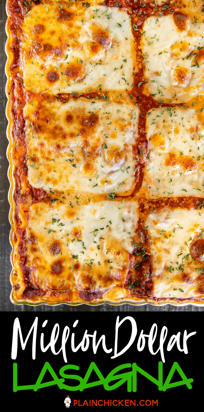 This Million Dollar Lasagna Is Seriously The Best Lasagna We Ve Ever Eaten So Easy To Make And Tastes Like A Million Bucks Lasagna Noodles Cottage C In 2020 Lasagna