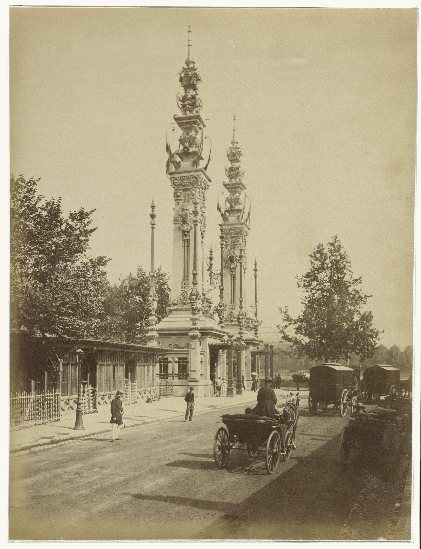 Anonymous | Paviljoen op de Wereldtentoonstelling van 1889 in Parijs, Anonymous, 1889 |