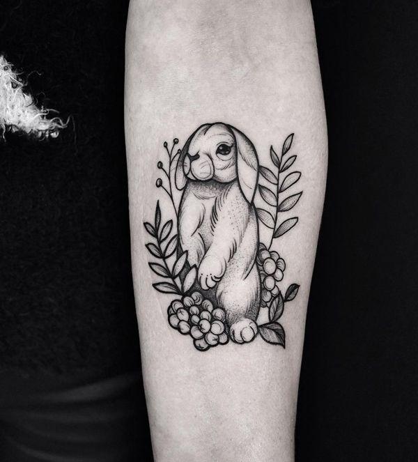 60 Rabbit Tattoo Ideas For Your Inspiration Cute Animal Tattoos