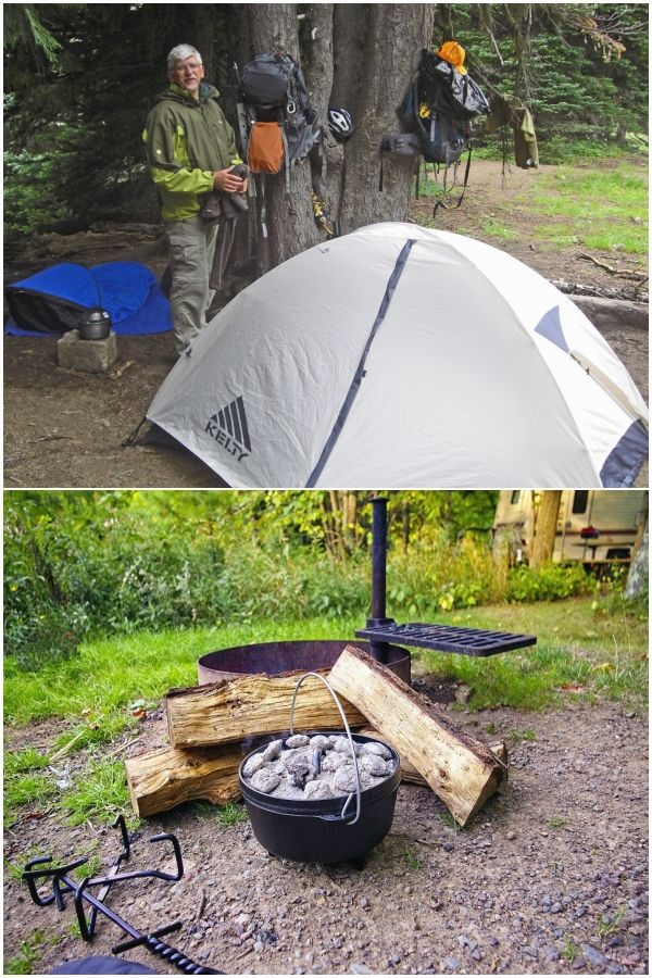 Outdoors And Camping Food in 2020 Camping experience