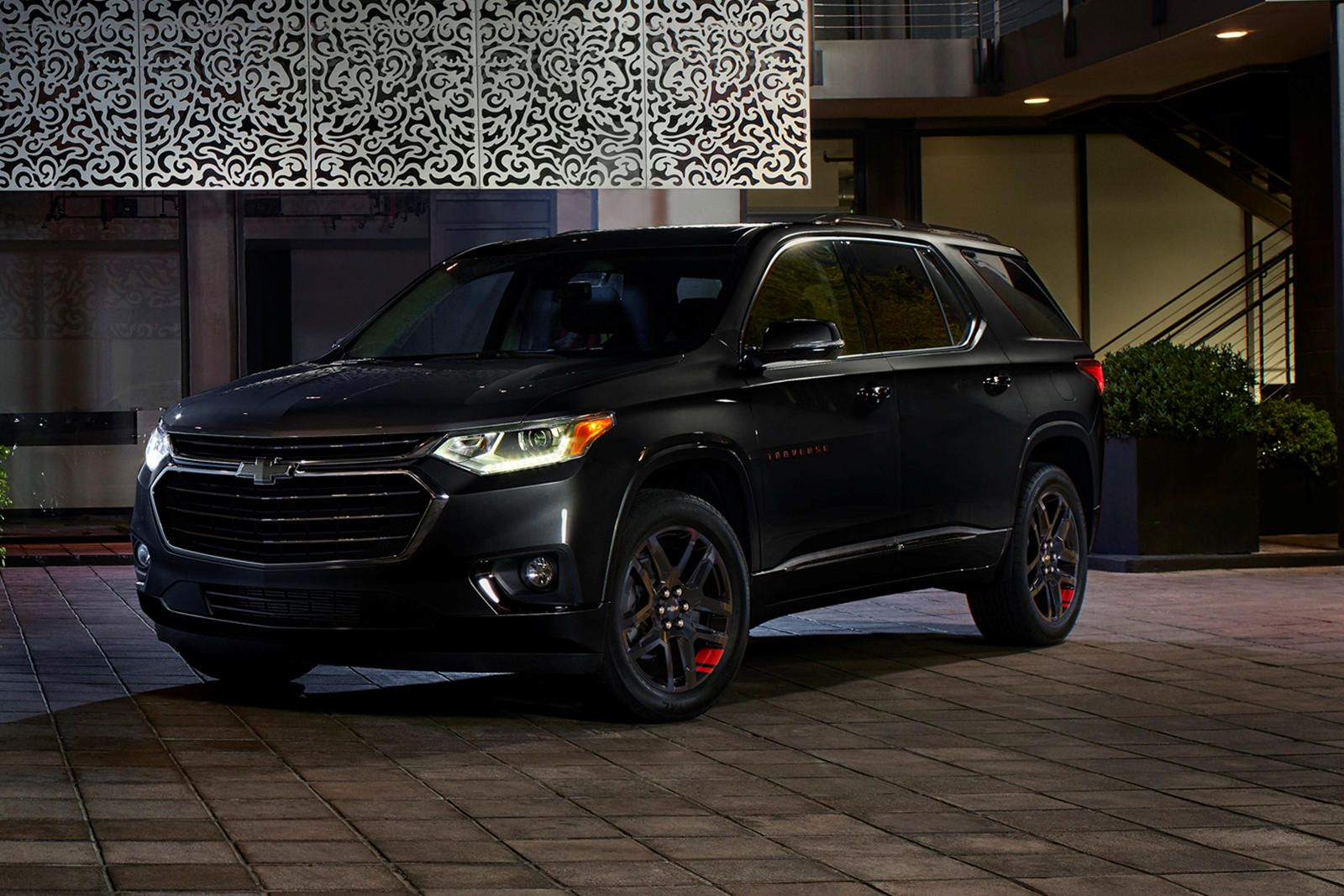 This Could Be The Most Important Chevy Traverse Ever Built And Not Just Because It S A Premier Redline Edition Chevrolet Chevy Chevy Tahoe