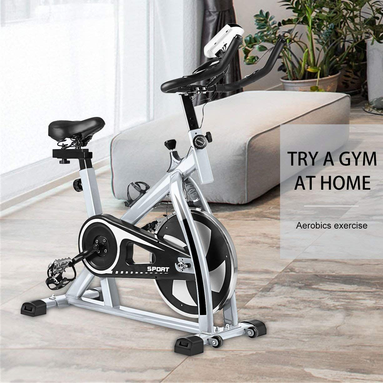 40lb Flywheel Chain Drive Pro Indoor Cycling Exercise Bike