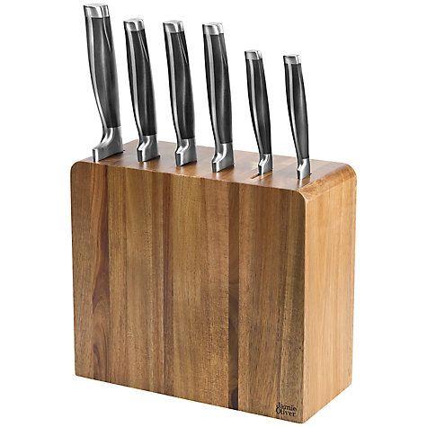 buy jamie oliver filled knife block online at