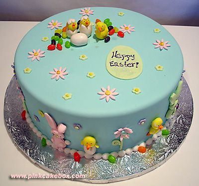 Easter Cake by Pink Cake Box in Denville, NJ.  More photos at http://blog.pinkcakebox.com/easter-cake-2007-04-06.htm  #cakes