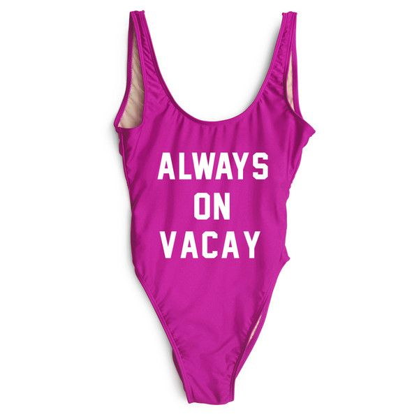 f91e3fca13 ALWAYS ON VACAY  SWIMSUIT