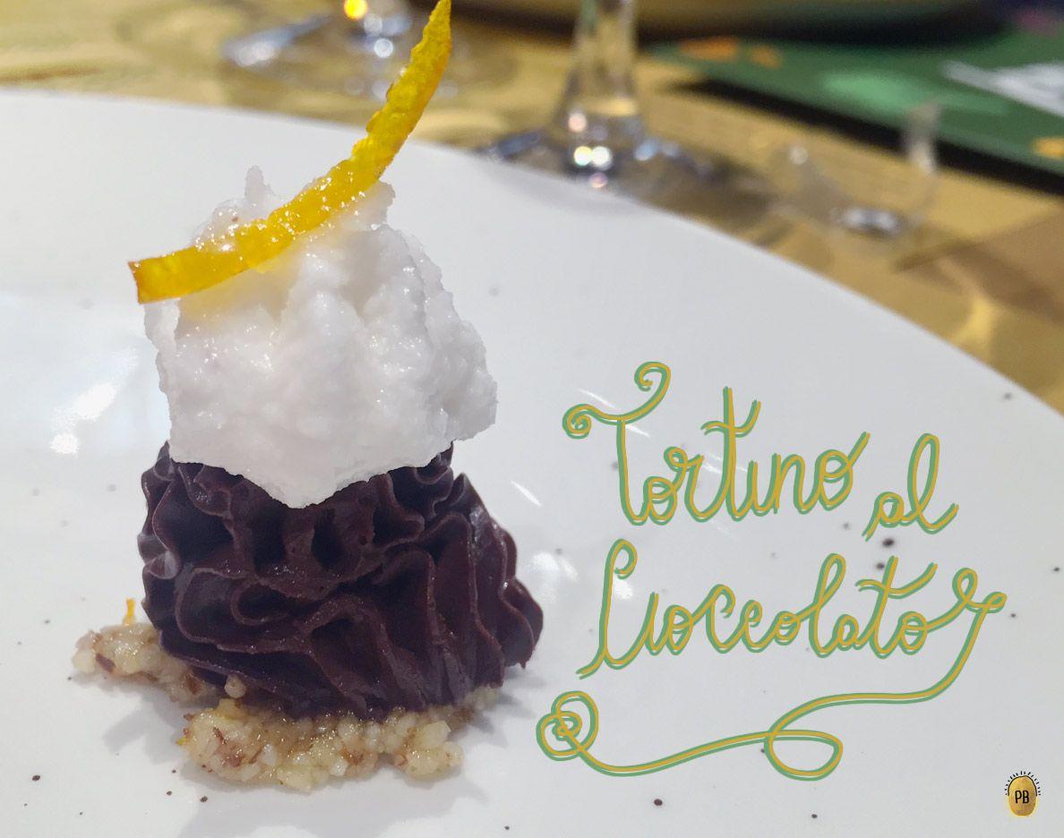 Tortino al cioccolato di Solo Crudo, Roma.  #rawfood #veganfood #food