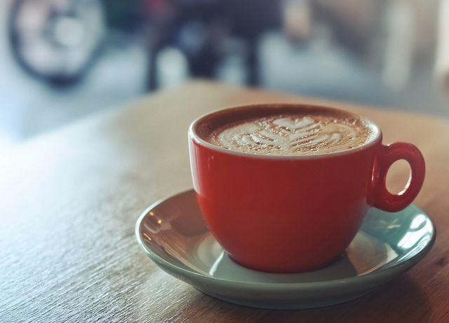 Cappuccino Makai Coffee Long Beach California Cappuccino Cappuccino Coffee Orange Cups