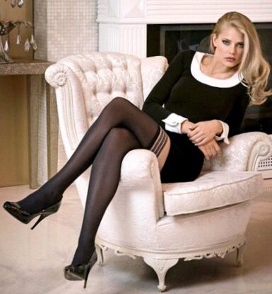 Can suggest classy pantyhose cross for