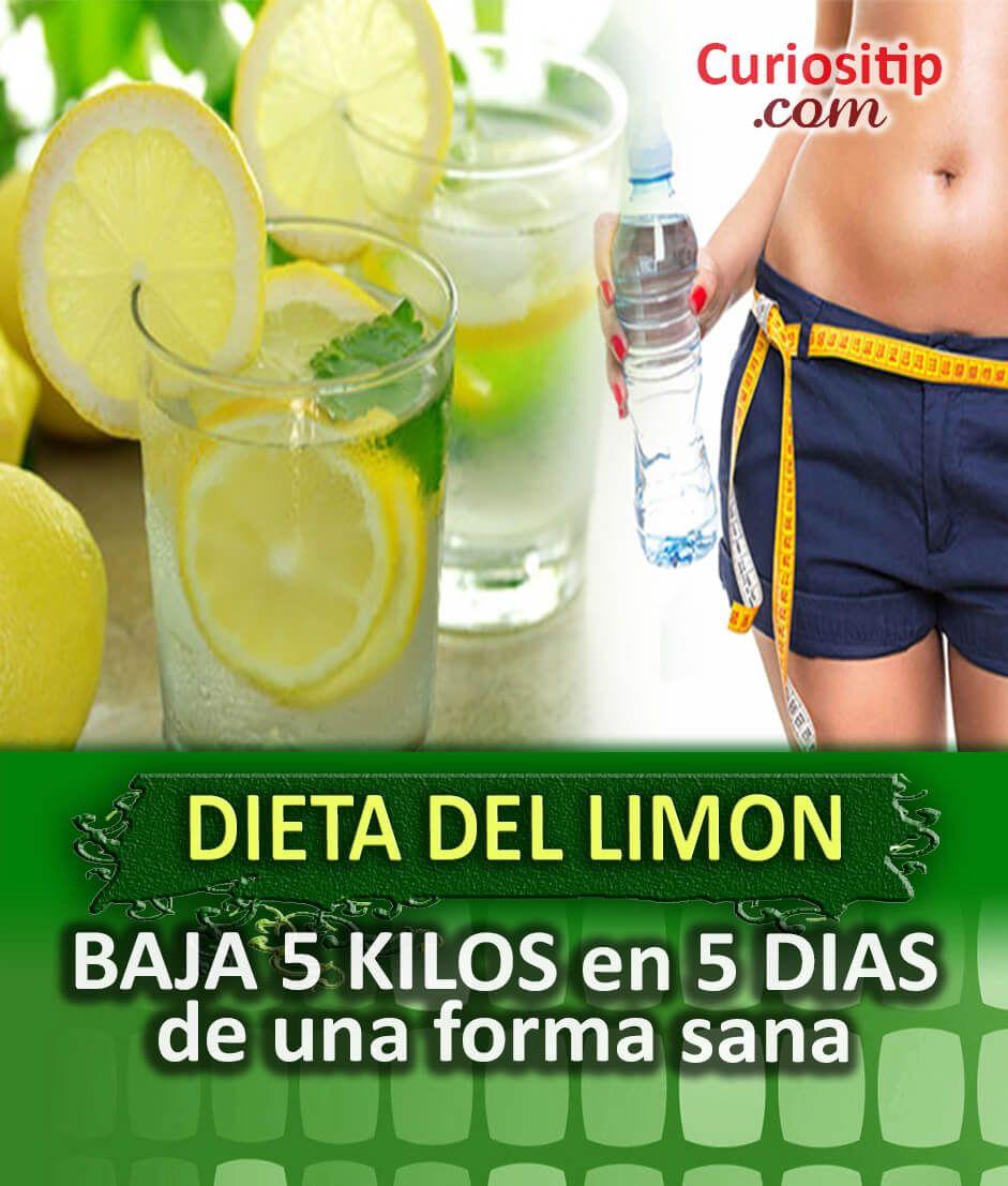 Como se hace la dieta del limon para bajar de peso