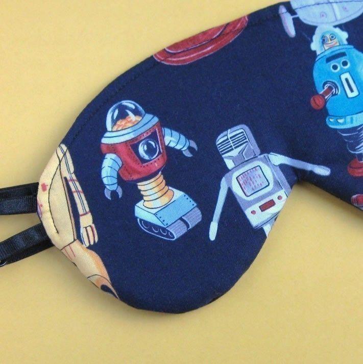 Robot Sleep Mask. :)