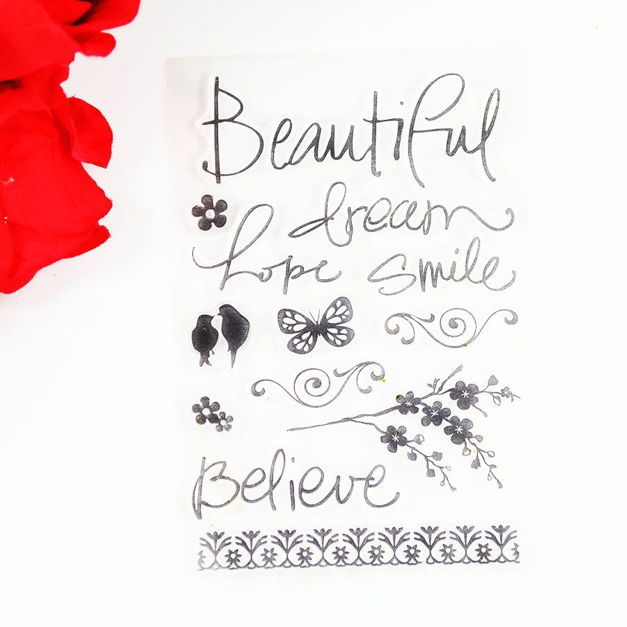 Find More Stamps Information About Beautiful Dream Flowers With