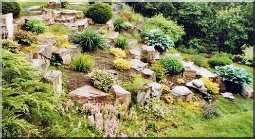 rocaille fleurs et jardin pinterest rocaille mettre en place et annuel. Black Bedroom Furniture Sets. Home Design Ideas