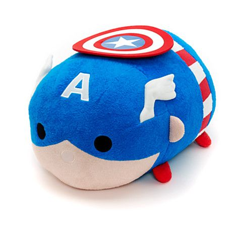 Marvel Tsum Tsum Medium Captain America NEW