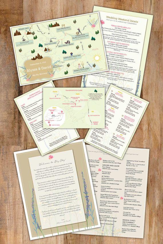 Custom Wedding Map Wedding Map Save the Date Wedding Map