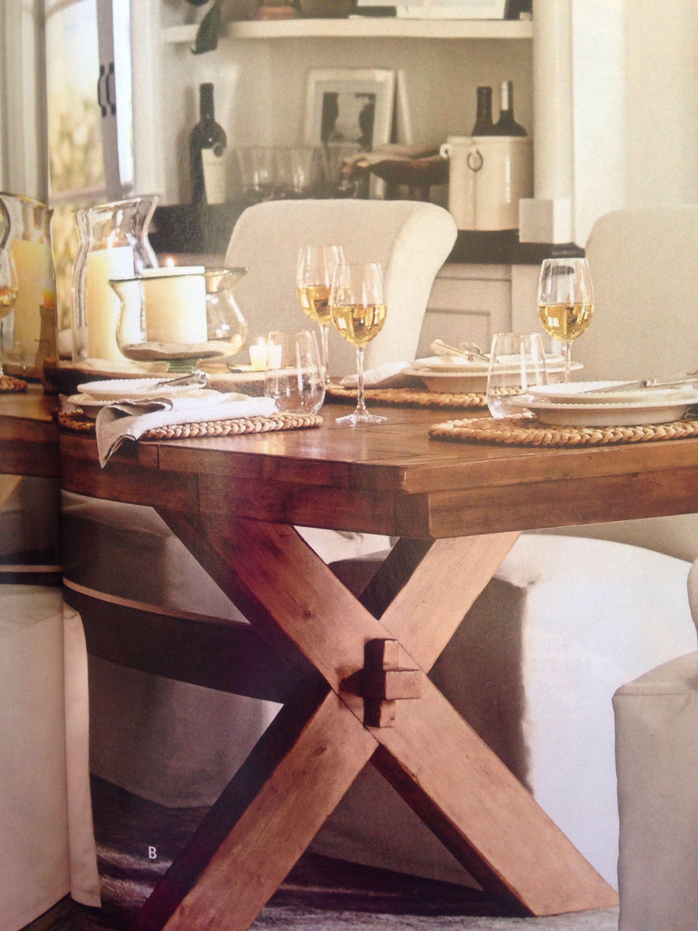 Dining Room Table I Like Pottery Barn Catalogue Dining