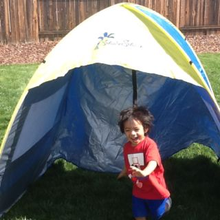 Shade Shack pop up tent with SPF 30  sc 1 st  Pinterest & Shade Shack pop up tent with SPF 30 | Shade Shack Instant Pop Up ...