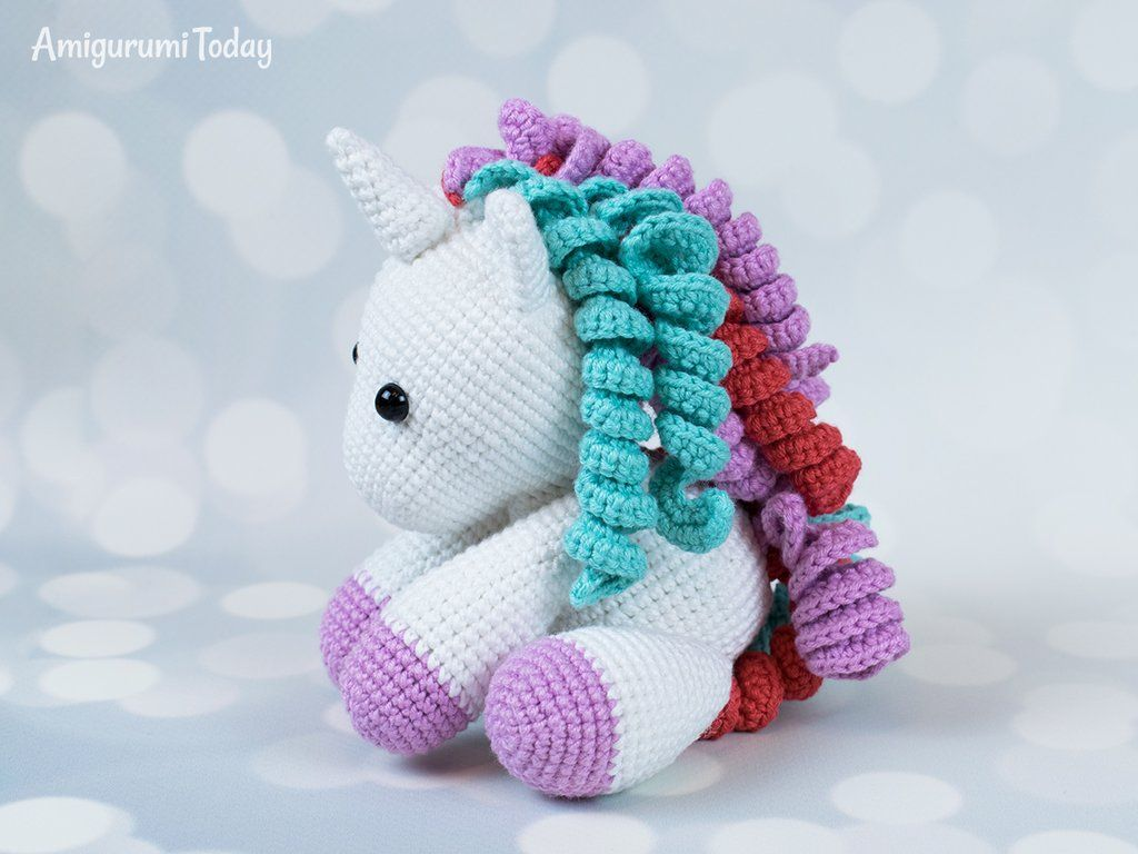 Arte Friki: Unicornio Amigurumi: 10 Patrones Gratis | 768x1024
