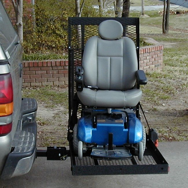 E Z Carrier 3 Adjustable Height Scooter Amp Power Wheelchair