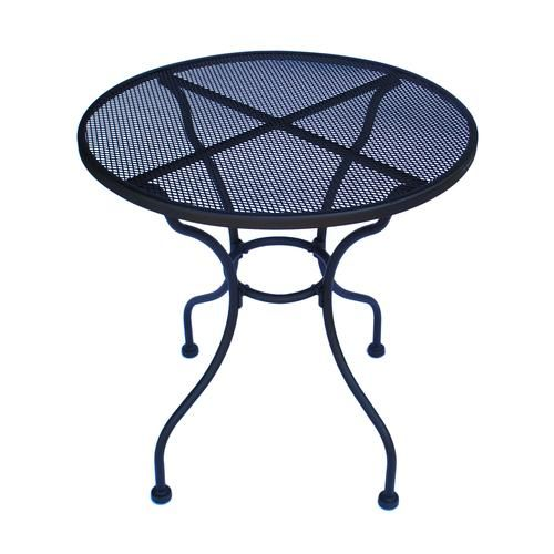 Backyard Creations Wrought Iron Cafe Table At Menards Backyard Creations Cafe Tables Patio Table