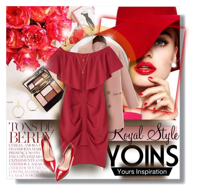 """Yoins"" by elizamonel ❤ liked on Polyvore featuring H&M, yoins and loveyoins"