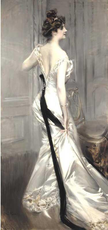 Giovanni Boldini's The Black Sash