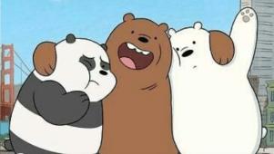 خلفيات الدببه الثلاثة 2020 افضل رمزيات وصور كرتونية جميلة وكيوت للأطفال والكبار Bear Wallpaper Bare Bears Cartoon Network Bears
