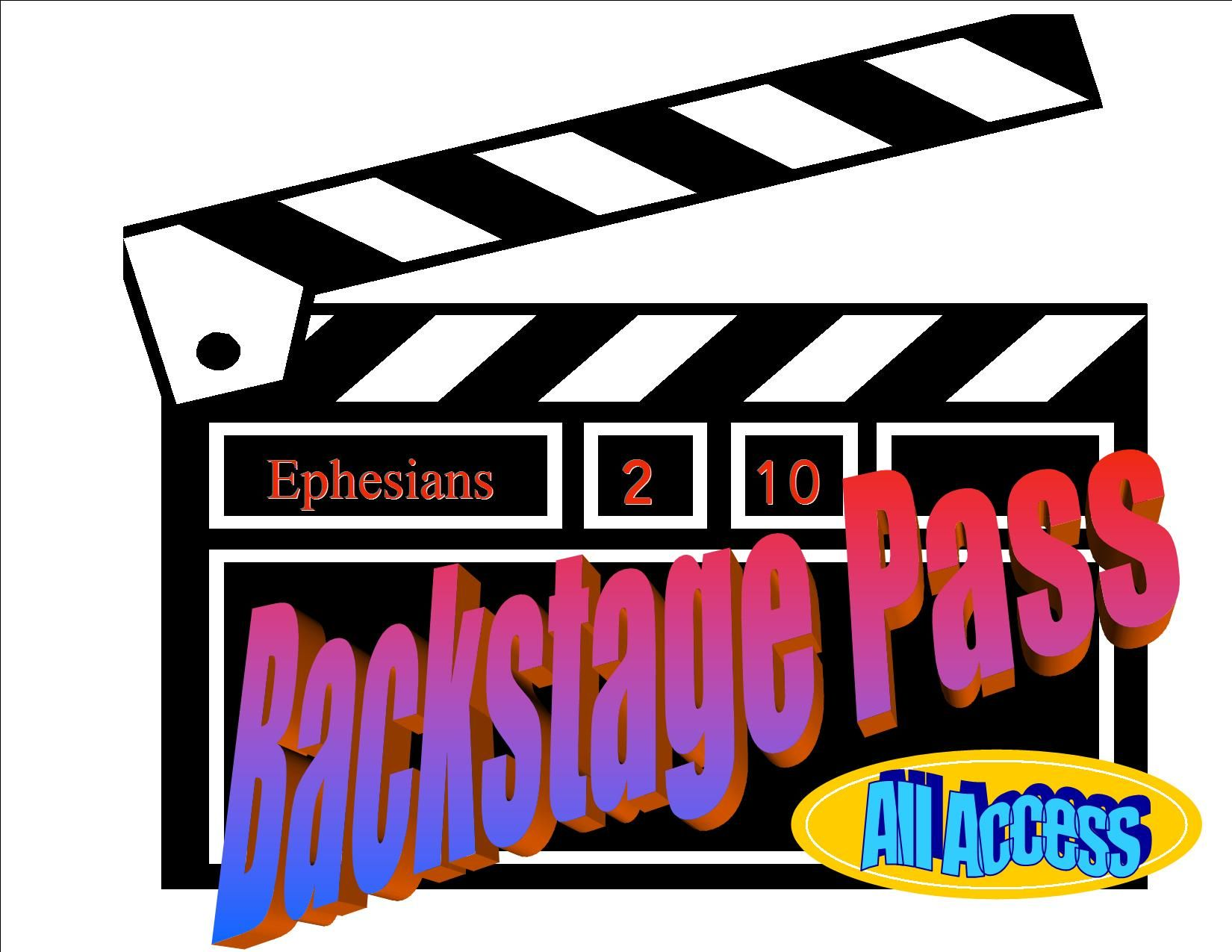 """Free VBS curriculum """"Backstage Pass"""" This is my VBS!!! So cool -- and  somebody else pinned it first!"""