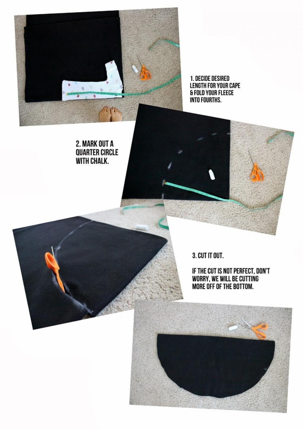 Comment fabriquer une cape en toile d 39 araign e sans - Fabriquer araignee pour halloween ...