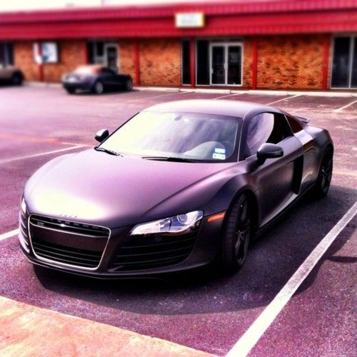 Pulled up in my sweet new ride today.. got a few head turns.. Audi R8 ;)
