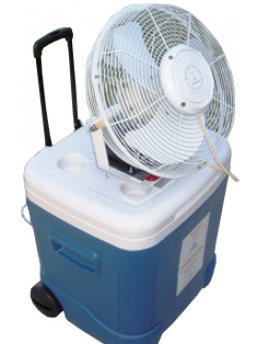 Coolermax Portable Misting Fan