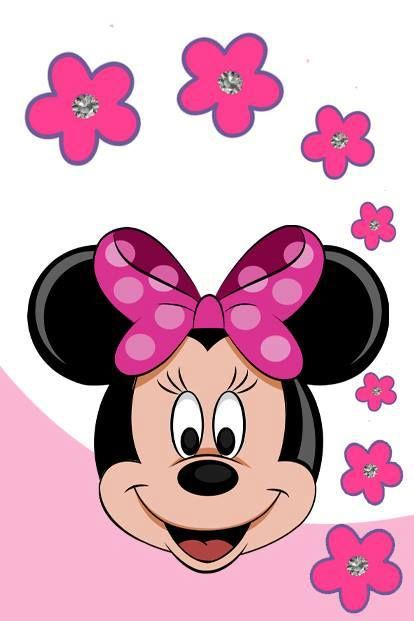 Pink Minnie Mouse Wallpaper Minnie Mickey Mouse And Hello Kitty