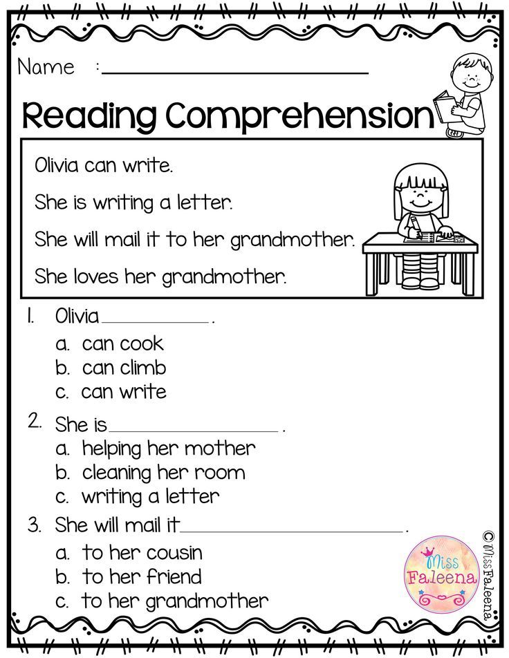 May Reading Comprehension
