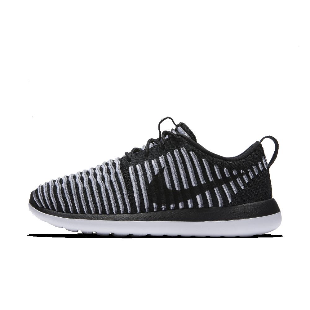 b5f538af6c84b Nike Roshe Two Flyknit Women s Shoe Size 10.5 (Black) - Clearance Sale
