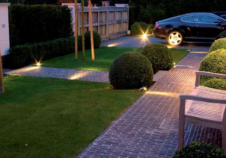 Illuminazione giardino elementi fondamentali
