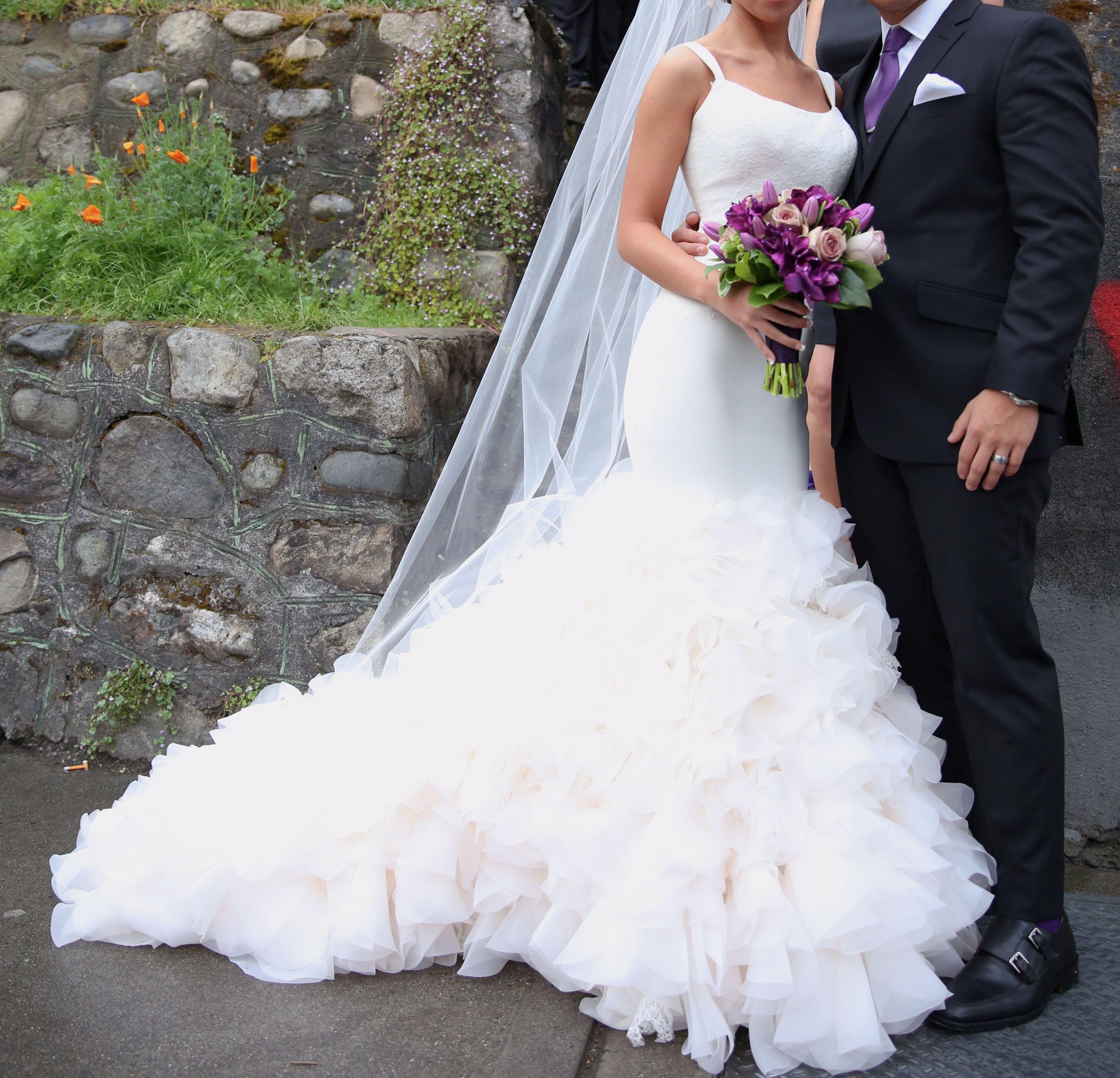 Used Vera Wang Georgette Mermaid Gown Wedding Dress Size 4 750 Used Wedding Dresses Wedding Dresses Sell My Wedding Dress [ 3500 x 3635 Pixel ]
