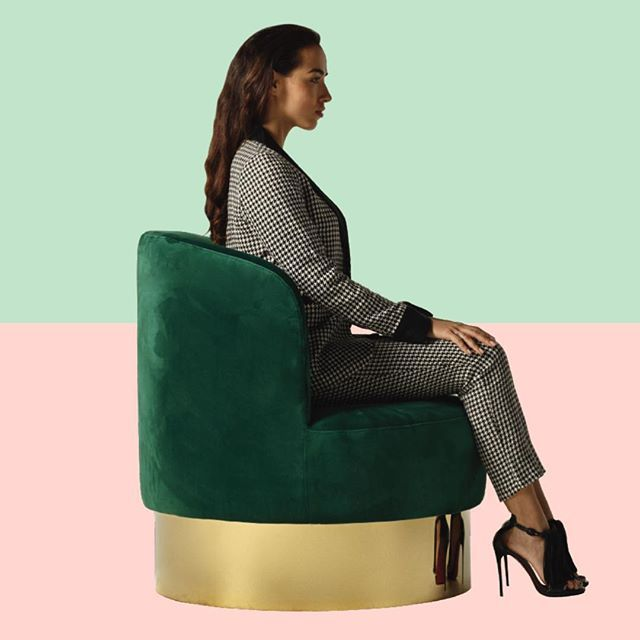 Le Cloud chair in emerald ⚡️