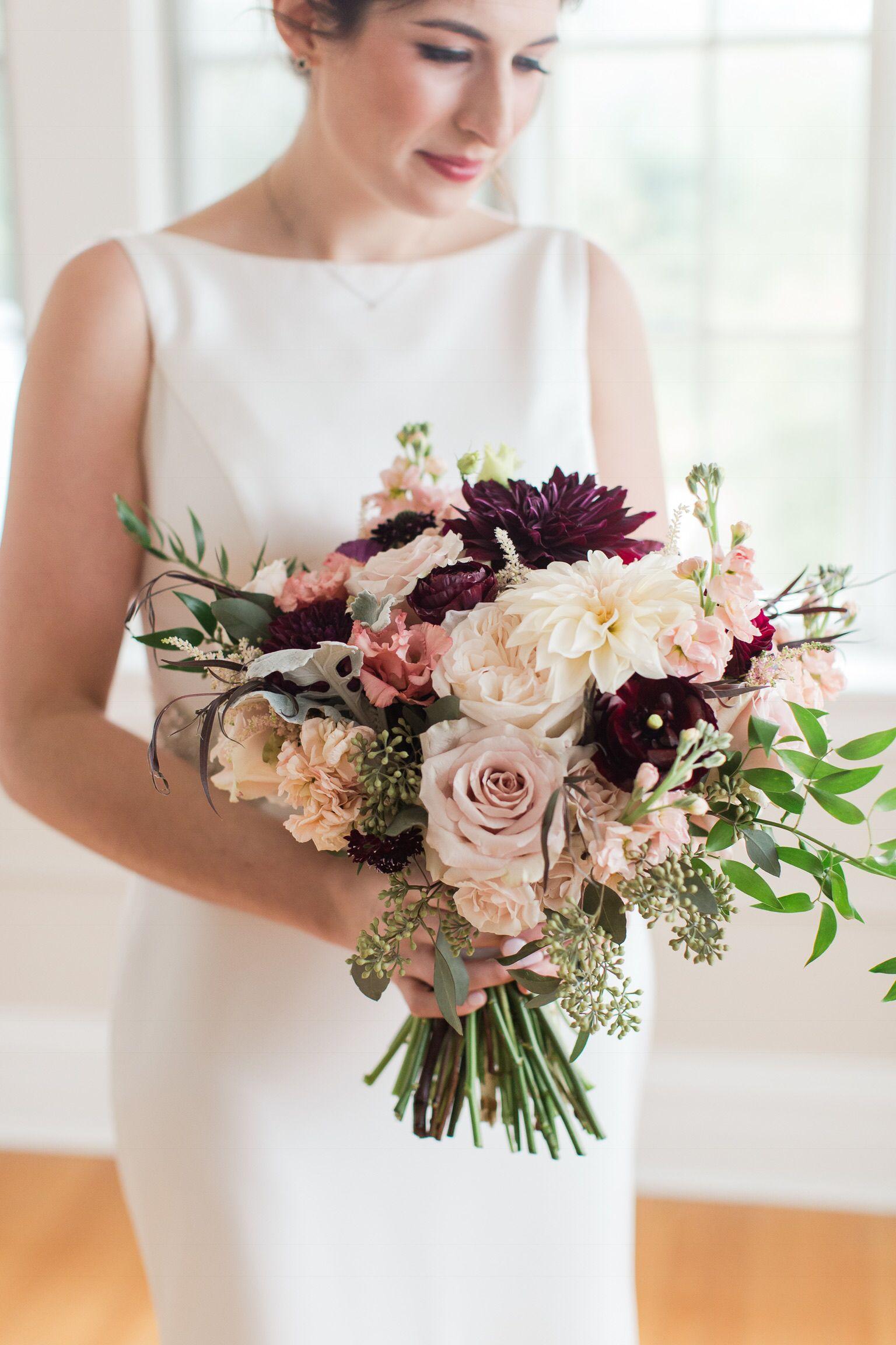 Fall Bridal Bouquet  #rosebridalbouquet