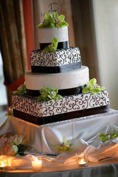 Wedding Cake At Dolce Hayes Mansion In San Jose California