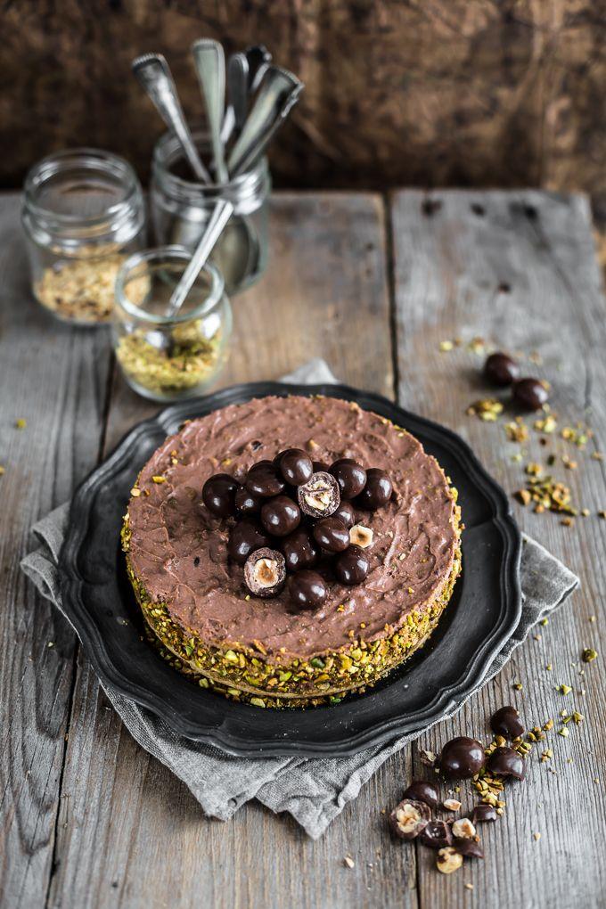 Cheesecake Senza Cottura Cioccolato E Nocciole No Bake Hazelnut