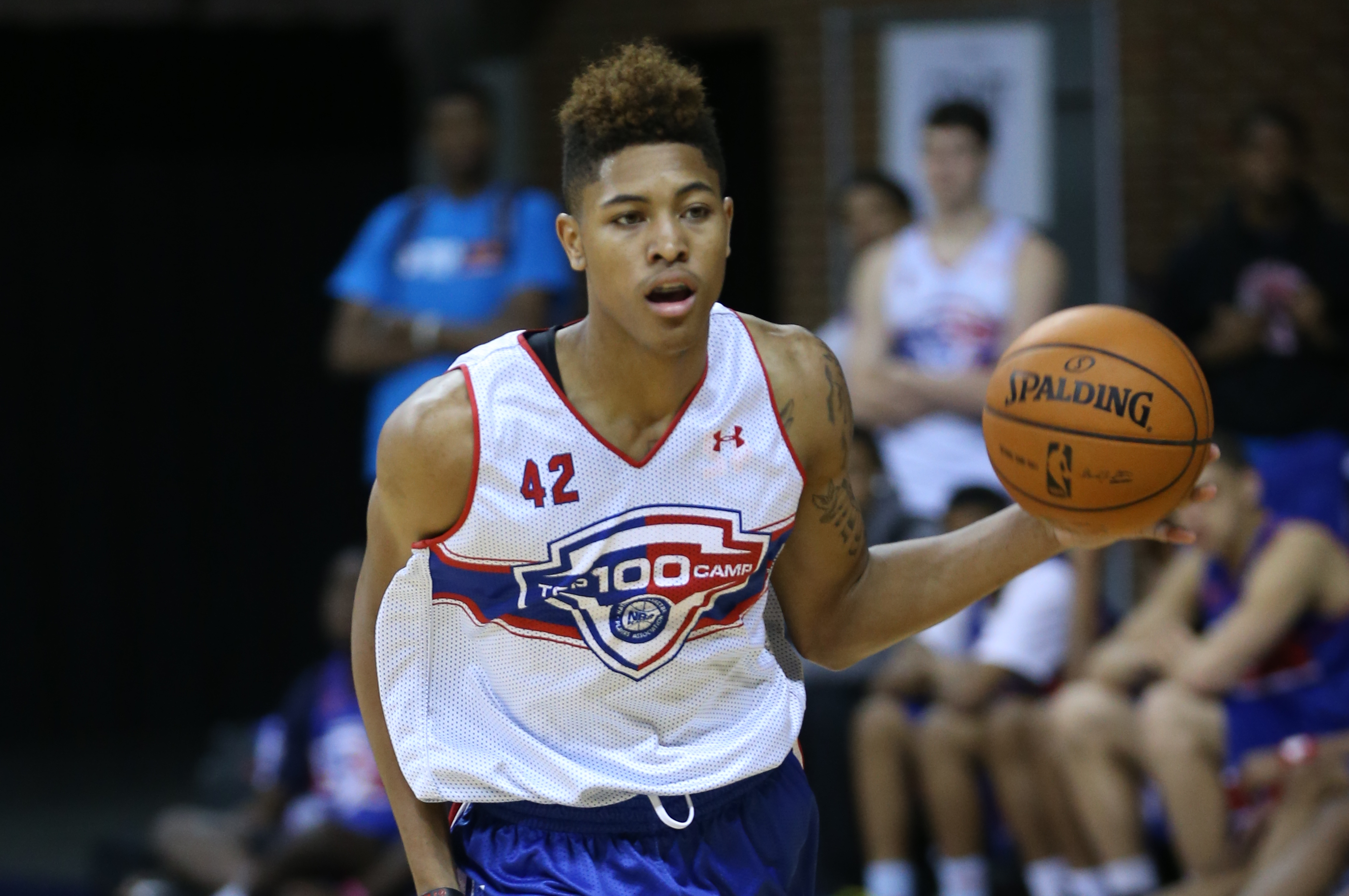 Kelly Oubre From Findlay Prep and ball is life! Click the photo to join the fan page and get other news on findlay prep  click pin, like and comment  #findlayprep #ballislife #basketball