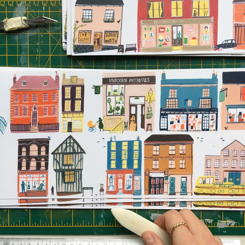 Image Of A Concertina Street Booklet Number Two